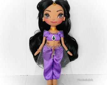Jasmine Princess Dolls Ragdolls Birthday Gifts for daughter Mothers Day gift Textile dolls Interior dolls Art dolls Cloth dolls Soft toys