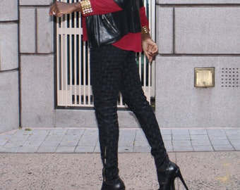 Amy biker pants