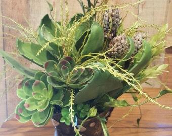 Cowboy Boots Centerpiece-Western Centerpiece-Cowboy Boots Flower Arrangement-Country Wedding Centerpiece-Country Centerpiece-Boot Planter