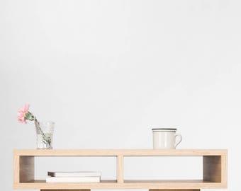 Desk, Console Table, Small Office Desk, Open Shelf, Desk With Storage,