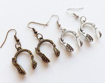 HEADPHONE Earrings Headphone Jewelry Headphone Gift DJ Jewelry DJ Earrings Dj Gift Musician Earrings Music Earrings Musician Gift Music Gift