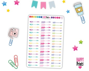 HP 194) -- Arrow Planner Stickers