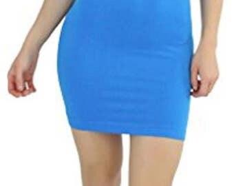 Custom Personalized Designed Womens Seamless Strapless Tube Dress