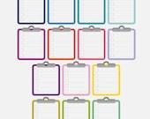 14 Zwischenablage Aufkleber, to do Liste, Aufkleber, Checklisten Sticker, Sticker, Erinnerung, quadratische Aufkleber Eclp Filofax glücklich Planer kikkik