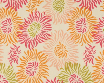 FQ of Fresh Cut by Heather Bailey for Free Spirit - Graphic Mums in Peach/Pink - Quilting Cotton OOP
