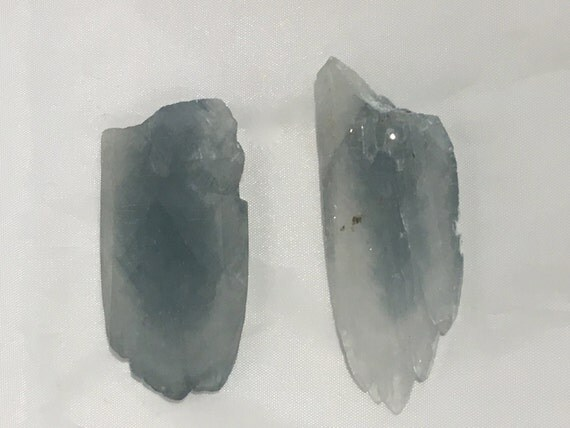 Beautiful NATURAL CELESTITE Points// Celestite Points// Healing Gemstones// Home Decor// Healing Tools// Crystal Points// Healing Crystals