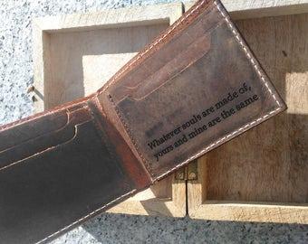 personalized mens wallet, leather wallet, bifold wallet, mens gift, for man, rustic wallet, personalized wallet, custom wallet, christmas