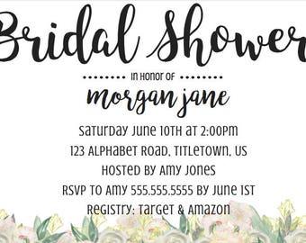 Bridal Shower Simple Suite