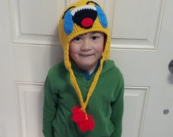 Crochet Emoji Crybaby Hat/Made to Order