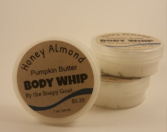 Pumpkin Butter Body Whip~Honey Almond Scent