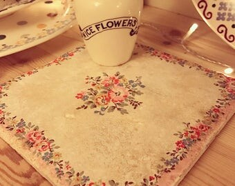 Cath Kidston bleached flowers pink pot stand
