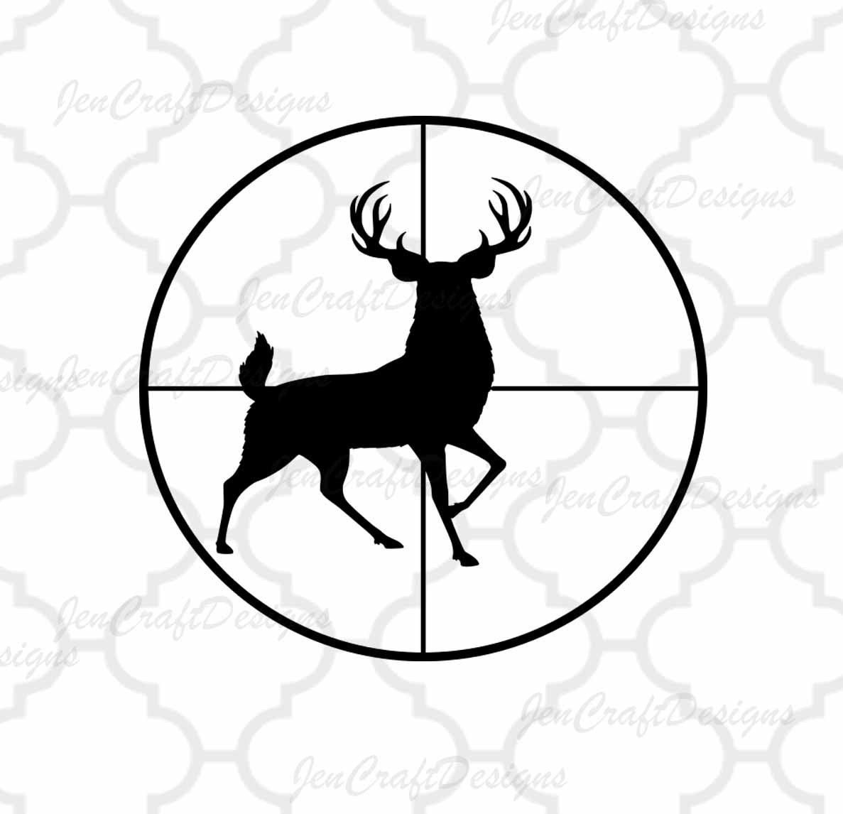 Deer Svg Cutting File Hunting Svg Png Studio3 Eps Dxf