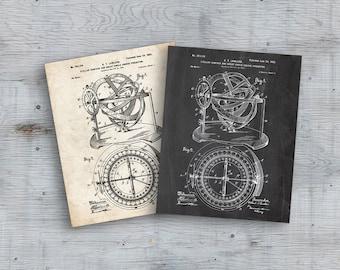 75% OFF SALE - Nautical Compass Patent, Nautical Compass Poster, Nautical Compass Print, Nautical Compass Art, Nautical Decor