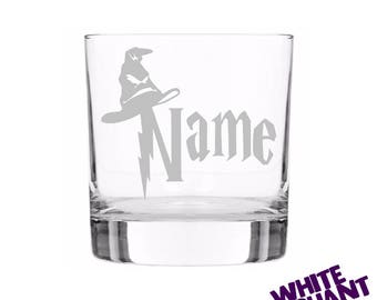 Harry Potter Personalised Tumbler/High-Ball/Pint Glass