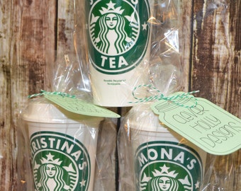 Personalized Starbucks Cup • Travel Coffee Mug • Custom Starbucks Cup • Custom Travel Tumbler (Genuine, Reusable) [quality gift idea]