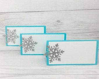 Snowflake Food Tent, Snowflake Food Labels, Winter Onederland Food Labels, Christmas Food Tent, Christmas Food Labels
