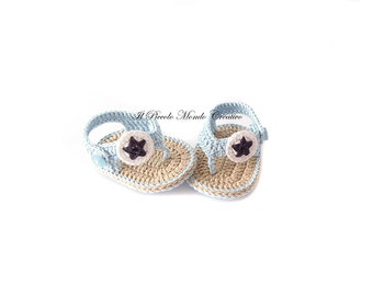 Crochet Baby Booties, Crochet Baby Flip Flops, Crochet Baby Sandals, Baby Shower Gift