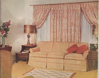 1,001 Decorating Ideas Book 15 by Conso Trims, 1958