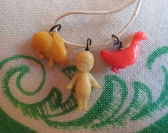 1930/1940's Celluloid Charms