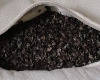 5 pounds bulk ORGANIC BUCKWHEAT HULLS