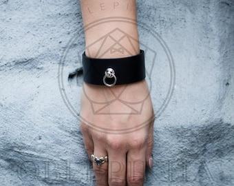 Womens Leather Bracelet,Bdsm leather bracelet,Custom leather bracelet,Leather Wrap Bracelet,BDSM jewelry womens,BDSM bracelet womens