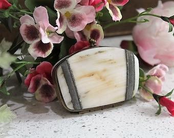 Vintage Shell Purse/Victorian Purse/Antique Shell Purse/Shell/SALE  (Ref1697M)