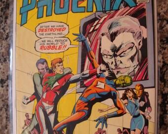 Phoenix Issue 2 Atlas Comic 1975