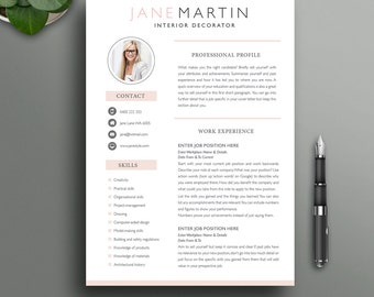 the resume boutique etsy