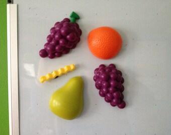 fruit magnets (refrigerator set)