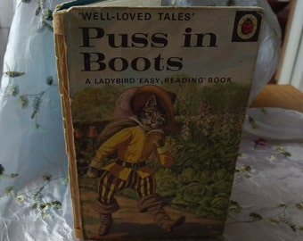 Vintage Ladybird book - Puss In Boots