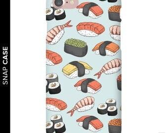 Sushi Phone Case, Sushi Roll Phone Case, iPhone 7 Sushi Case, Sushi iPhone Case, Samsung Phone Case, Samsung Case, Sushi Roll Case, Sushi