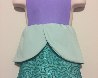 Ariel Disney Princess Dress Up Apron - Reversible