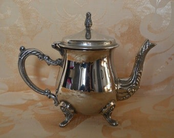 Beautiful French Vintage Teapot, Chic, Authentic, Antique, Dining, Parties, Decorative, Interiors, Tea Time, Decor, Style
