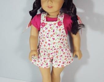 18 inch doll clothes Going Gardening Shortalls