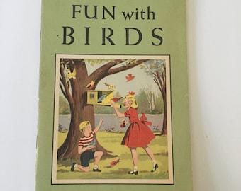 "National Audubon Society ""Fun With Birds"" - 1953 - Vintage Audubon Nature Program"