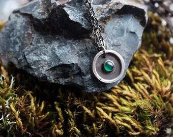 Green medallion.