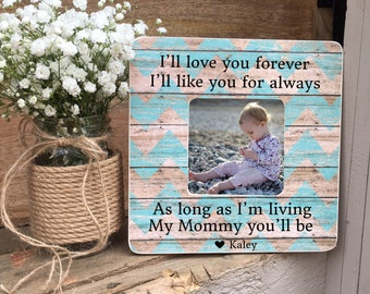 ON SALE Mother's Day Gift Mom Gift First Mother's Day Gift  Frame For Mom New Mom Personalized Picture Frame