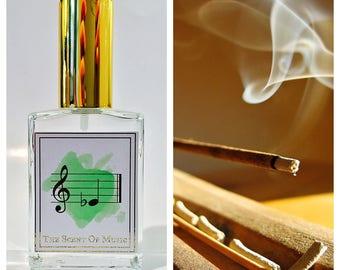 Citrus Sandalwood Perfume - E Flat // Eb - Music Perfume - Synesthesia Inspired Scents