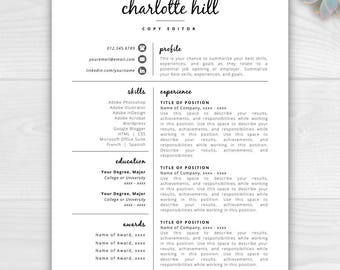 Berkeley Resume Pdf Resume Template  Etsy Data Analyst Resumes Word with Standard Resume Format Excel Creative Resume Template  Resume Icons  Resume Template Word  Pages   Instant Download Resume Theatre Resumes Word