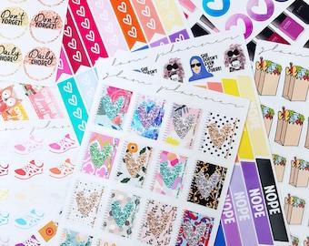 Advent Bundles! (Glam Planner Stickers)