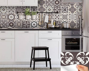 New Home Decor Ideas Talavera Bathroom Tile Sticker Set Of 24 Tiles Decal Mixed Tiles For
