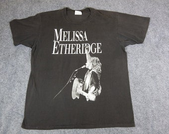 1989 Melissa Etheridge Brave and Crazy Tour T-shirt