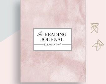 Reading Journal, Book Journal, Reading log, Reading List, Reading Tracker, Reading Planner, Reading Diary, Student Reading log Printable PDF