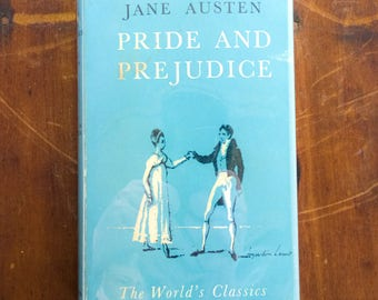 1967 Oxford World's Classics Hardcover Pride and Prejudice by Jane Austen