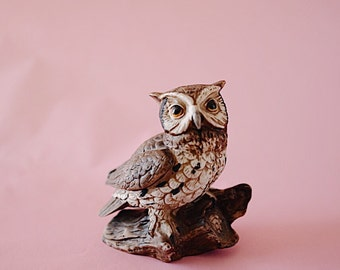 Owl #4   Vintage   Ceramic   The Owl Collection