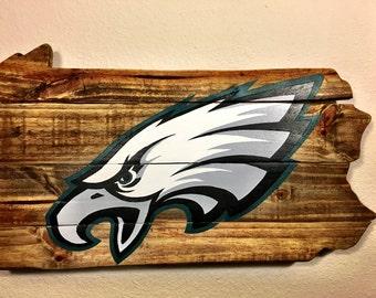 Philadelphia Eagles Pallet Sign