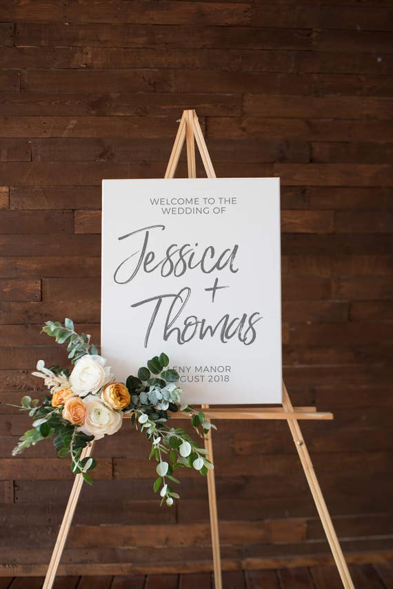 Wedding Welcome Sign Printable Wedding Event Sign Wedding