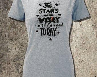 BOWIE space oddity new premium T-shirt male/female sizes TEE Major Tom ziggy