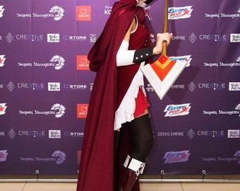 hooded cloak cosplay costume handmade red riding hood