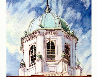 103 The Sheldonian Cupola, Oxford
